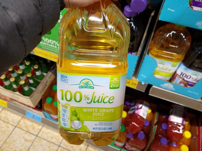 Nature's Nectar White Grape Juice