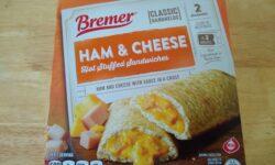 Breme Ham and Cheese Hot Stuffed Sandwiches