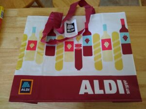 Aldi Eco Friendly Reusable Bag