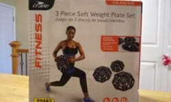 Crane 3 Piece Soft Weight Plate Set