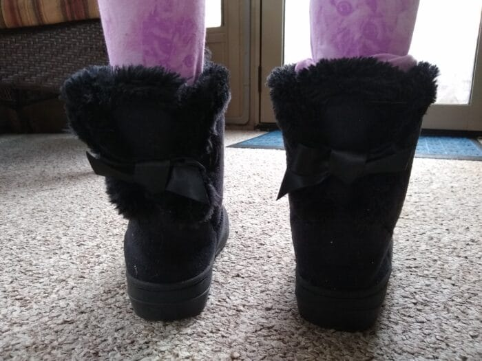 Lily & Dan Girls' Cozy Boots