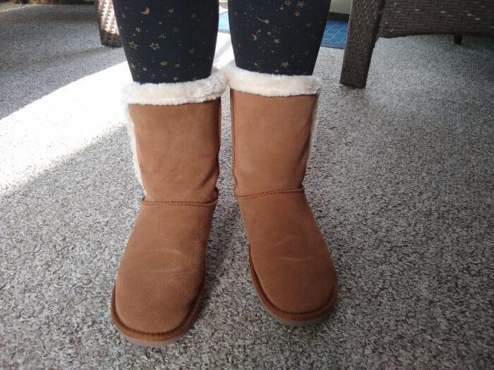 Serra Ladies Suede Boots