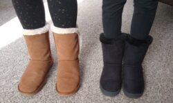 Serra Ladies Suede Boots and Lily & Dan Girls' Cozy Boots