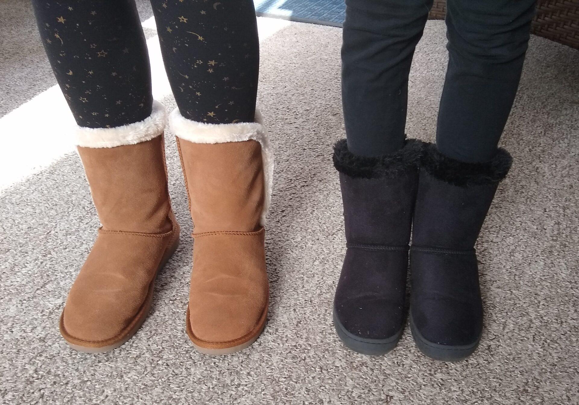Serra Ladies Suede Boots + Lily \u0026 Dan
