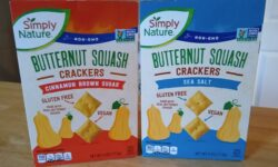 Simply Nature Butternut Squash Crackers