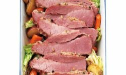 Morton's of Omaha FRESH BLACK ANGUS USDA CHOICE Corned Beef Brisket Flat
