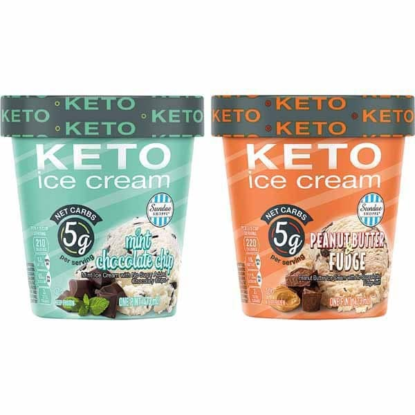 Sundae Shoppe Keto Ice Cream Pints