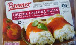 Bremer Cheese Lasagna Rolls