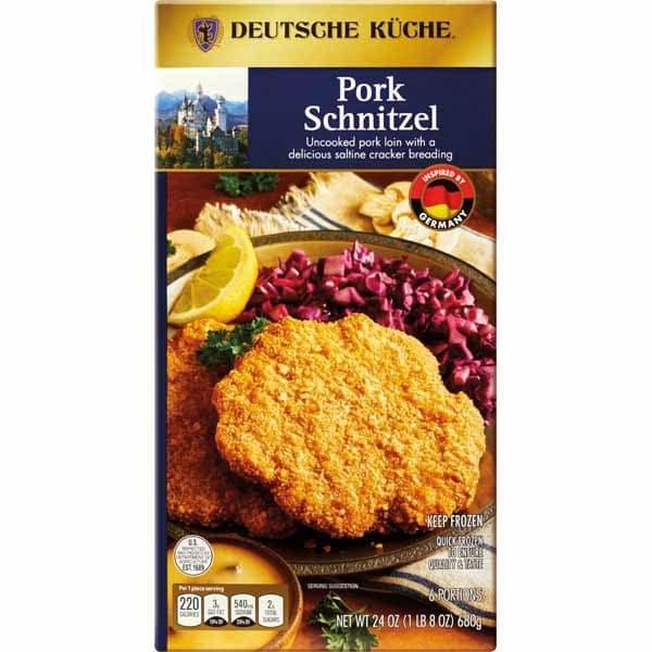 Deutsche Küche Pork Schnitzel