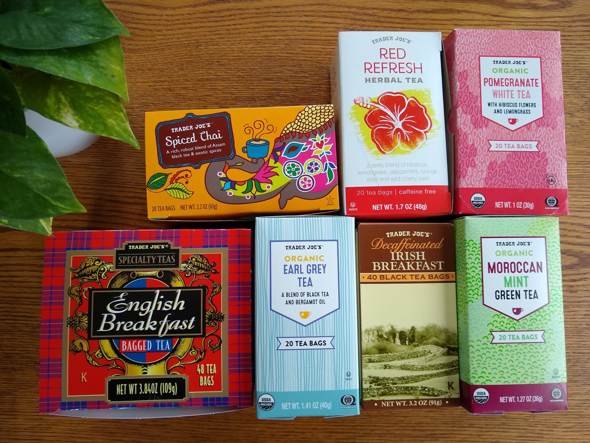 Trader Joe's Tea Roundup