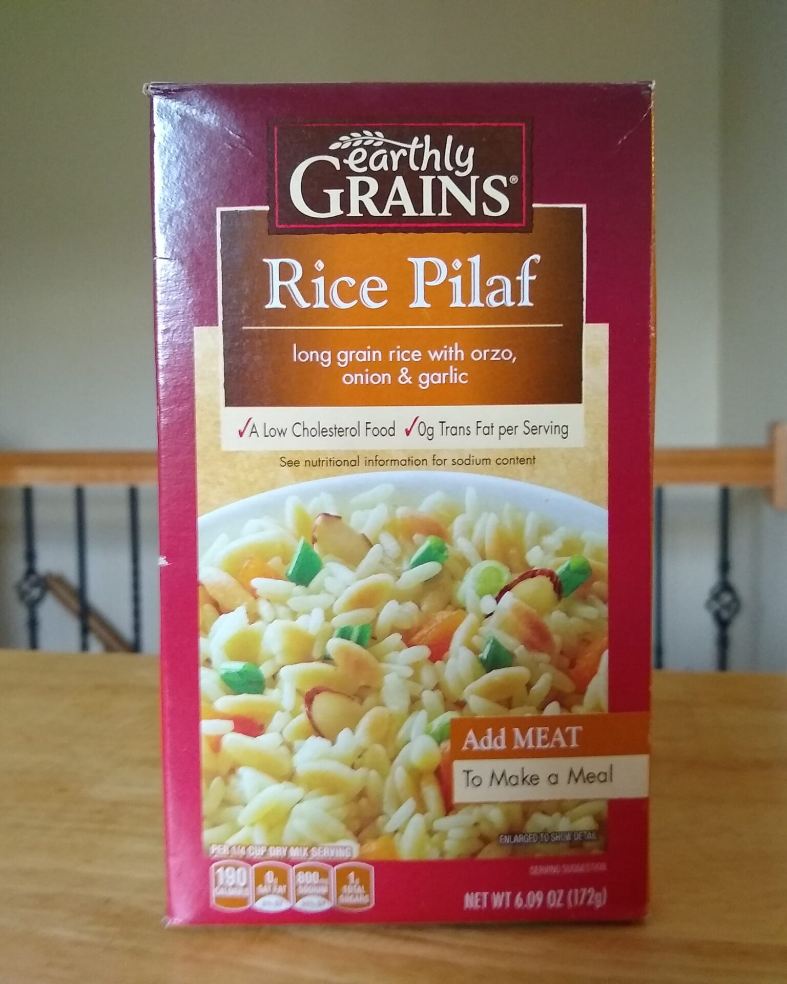 Earthly Grains Rice Pilaf