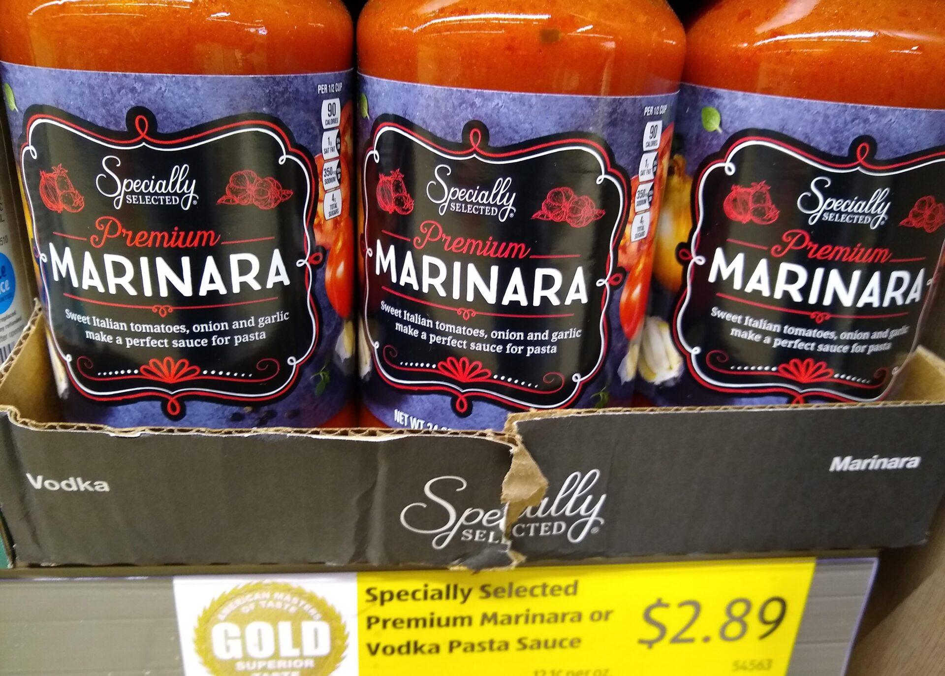 Specially Selected Premium Marinara