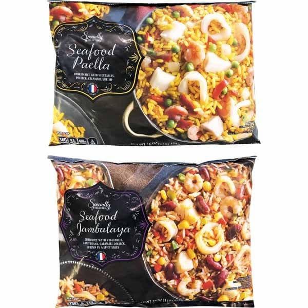 Specially Selected Seafood Paella or Seafood Jambalaya
