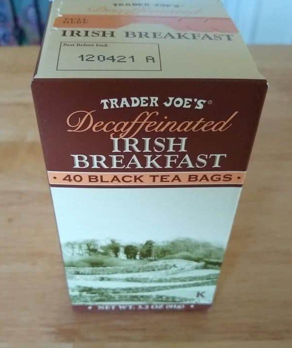 Trader Joe's Decaf Irish Breakfast Tea