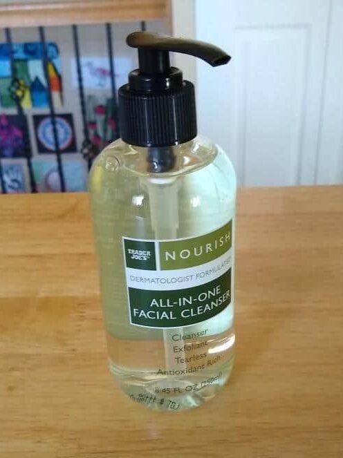 Trader Joe's Nourish Facial Cleanser 1