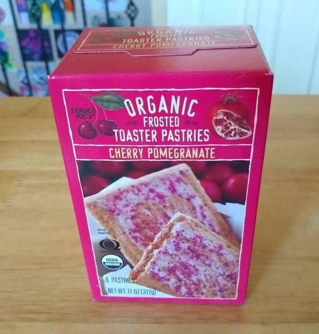 Trader Joe's Organic Cherry Pomegranate Toaster Pastry