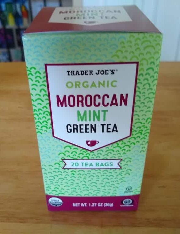 Trader Joe's Organic Moroccan Mint Green Tea 1