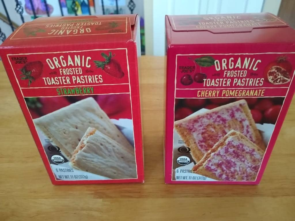 Trader Joe's Organic Pastry Roundup