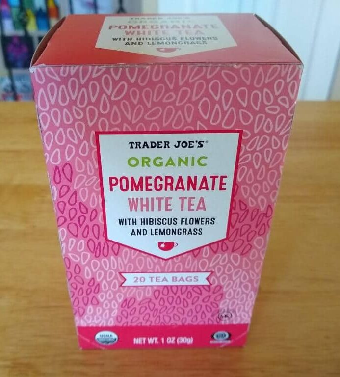 Trader Joe's Organic Pomegranate White Tea 1