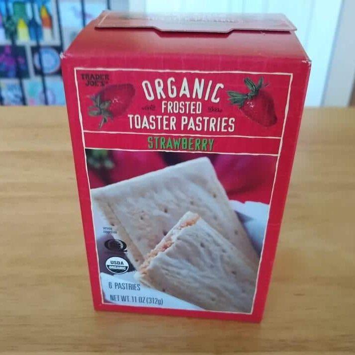 Trader Joe's Organic Strawberry Toaster Pastry