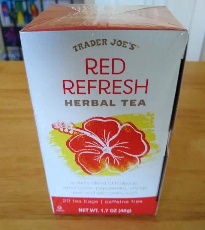 Trader Joe's Red Refresh Herbal Tea 1