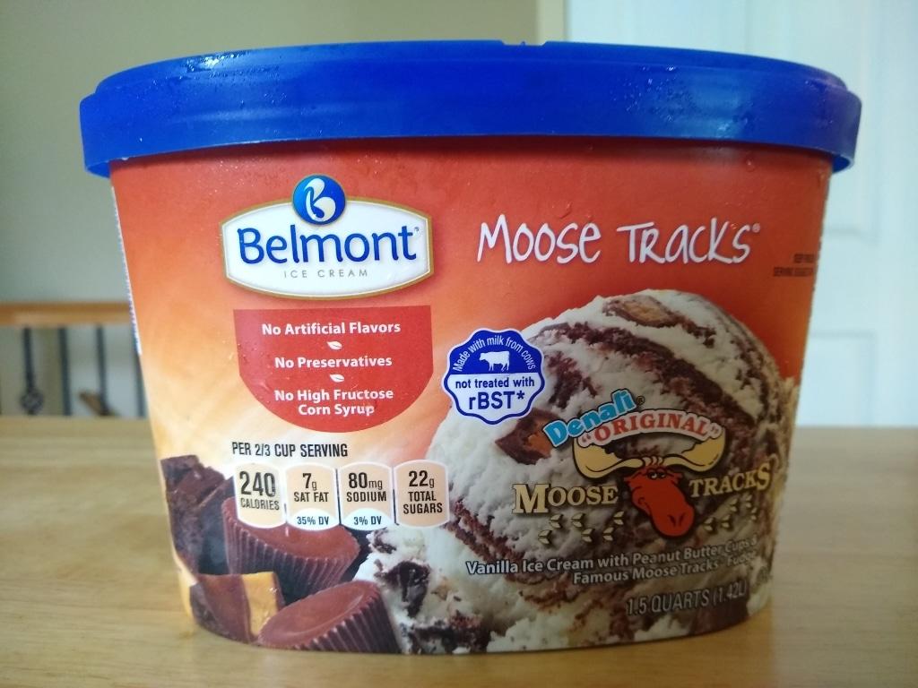 Belmont Moose Tracks Ice Cream