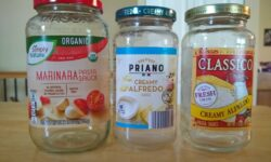 How to re-purpose Aldi pasta sauce jars