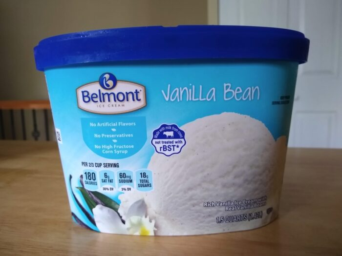 Belmont Vanilla Bean Ice Cream