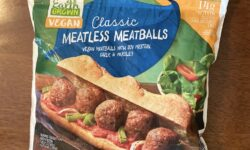 Earth Grown Classic Vegan Meatballs 1