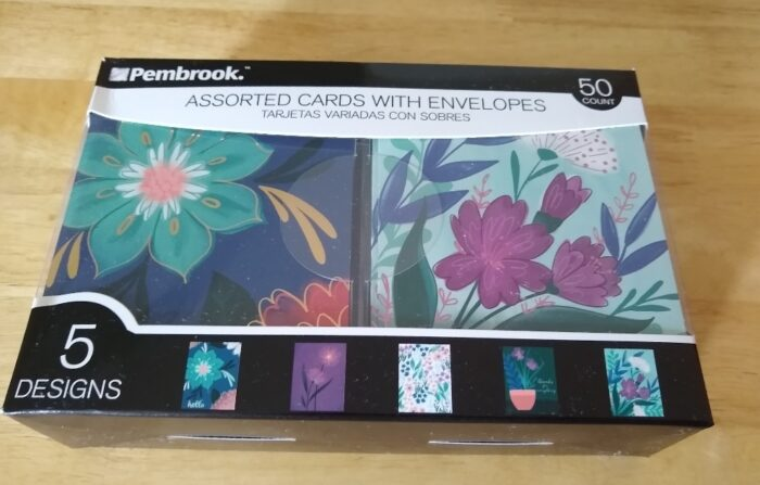 Pembrook Assorted Cards with Envelopes