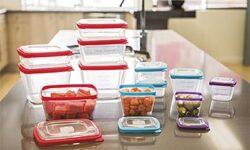 Crofton 24 Piece Durable Food Storage Set