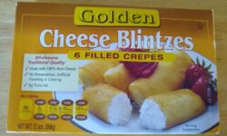 Golden Cheese Blintzes