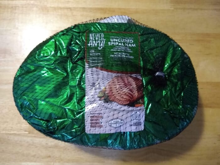 Never Any! Uncured Spiral Ham