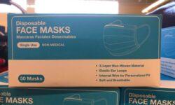 Aldi Disposable Face Masks