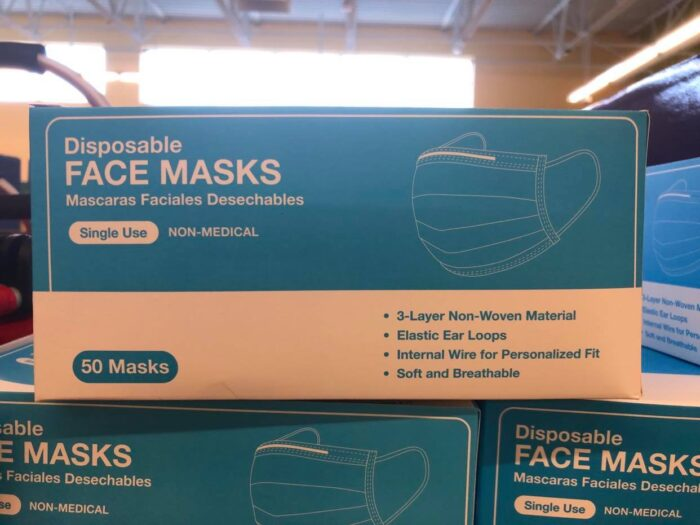 Aldi Disposable Face Masks