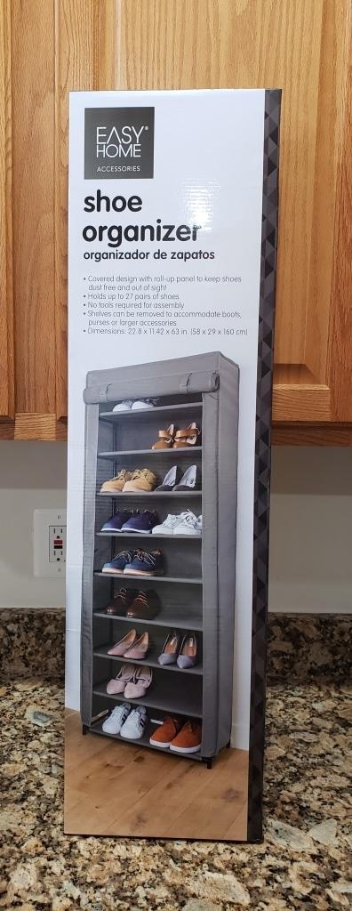 Easy Home Shoe Organizer | ALDI REVIEWER