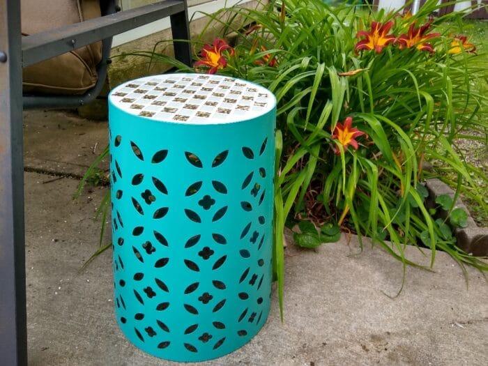 Gardenline Mosaic Garden Stool