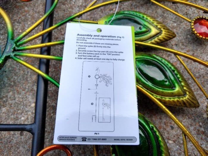 Gardenline Solar Garden Stake