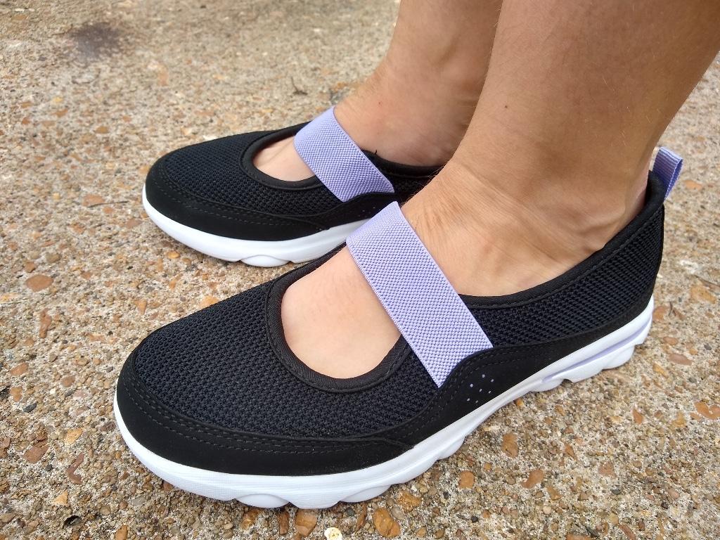 Crane Ladies Memory Foam Walking Shoes