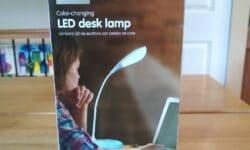 Easy Home Color-Changing LED Desk Lamp