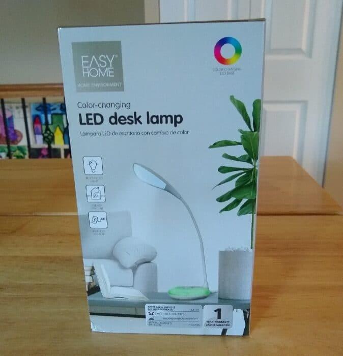 Easy Home Color-Changing LED Desk Lamp