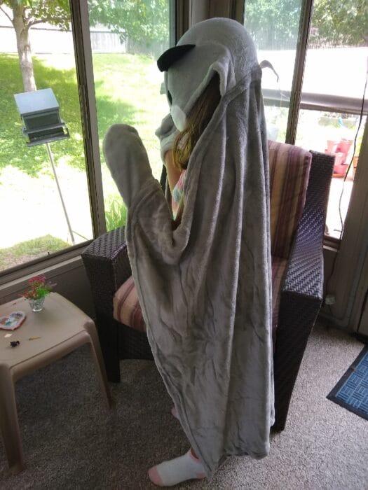 Huntington Home Hooded Plush Throw