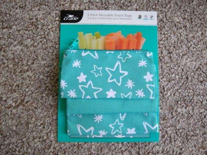 Crane Reusable Snack Bags