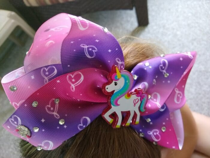 JoJo Siwa Bow and Scrunchie