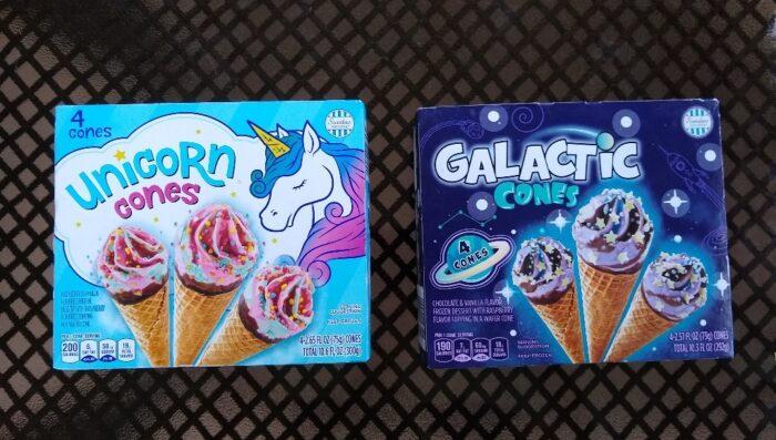 Sundae Shoppe Galactic Cones and Unicorn Cones
