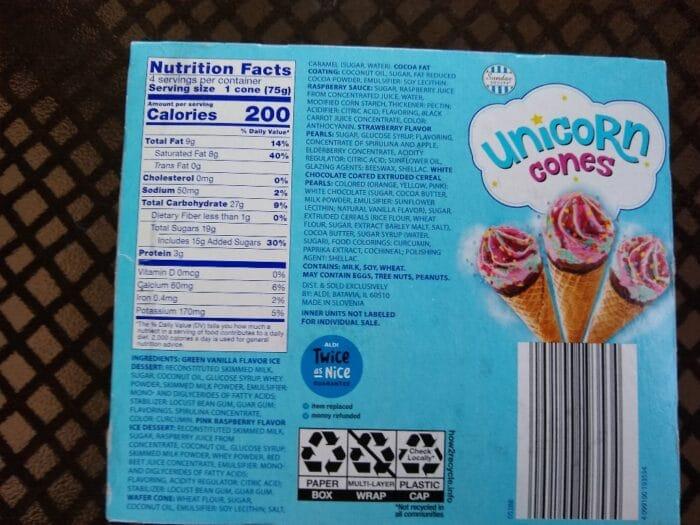 Sundae Shoppe Unicorn Cones