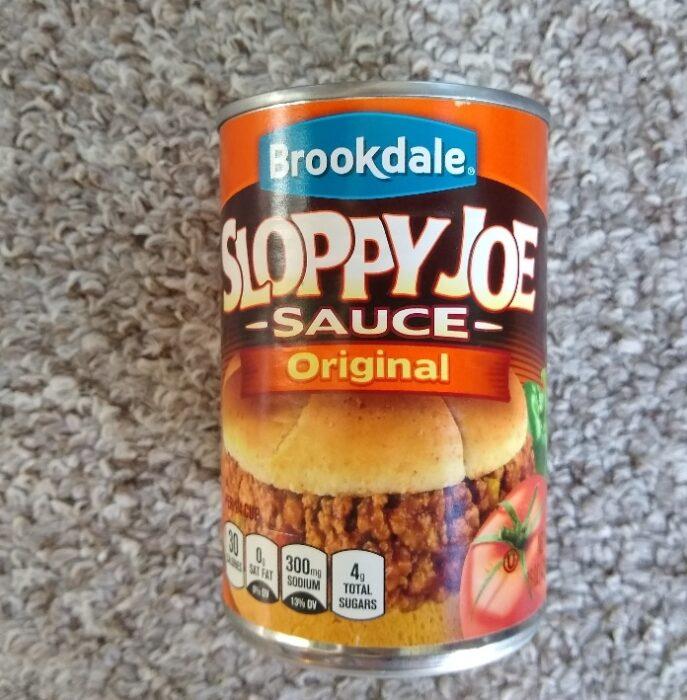 Brookdale Sloppy Joe Sauce
