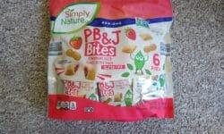 Simply Nature PB and J Bites