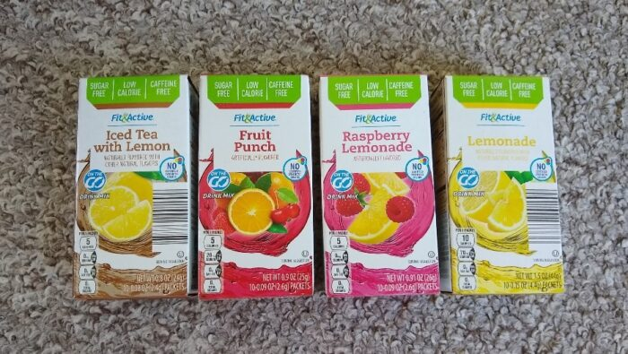 Fit and Active On the Go Drink Mix