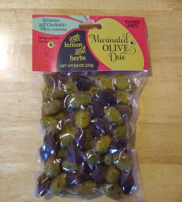 Trader Joe's Marinated Olive Duo